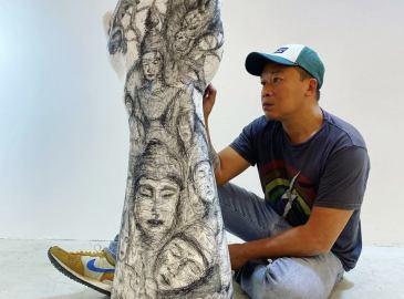 Hom Nguyen La Montagne de Marbre
