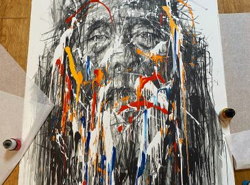 Hom Nguyen Lithographie You Man
